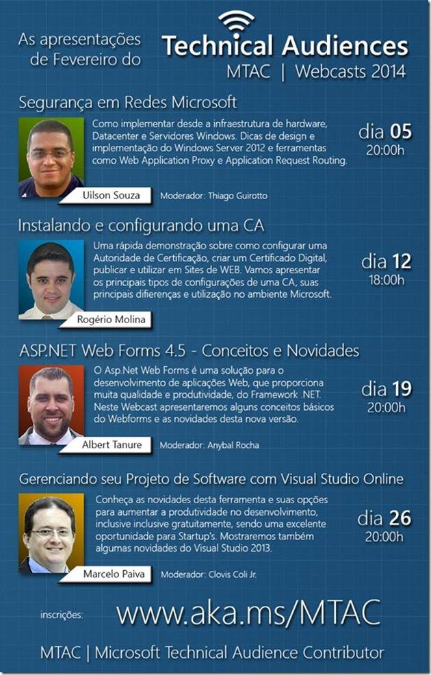 MTAC Webcasts 2014